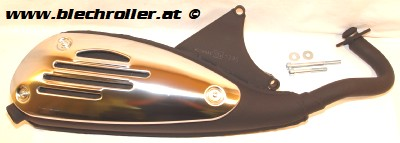 Auspuff Original Pro Scooter 50  von Tecnigas für Piaggio Vespa ET2/LX 50/S 50/Primavera 50