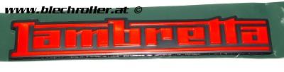 "Schriftzug ""Lambretta"", Seitenhaube für Lambretta 125/200 V-Serie"