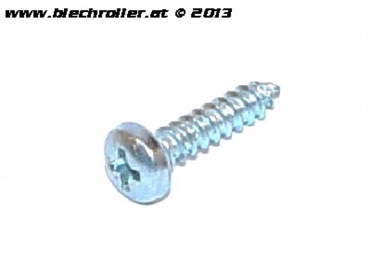Schraube M3x13mm, Trittleisten Gummimatte Durchstieg, Gitter/Schriftzug Kaskade/Hupe
