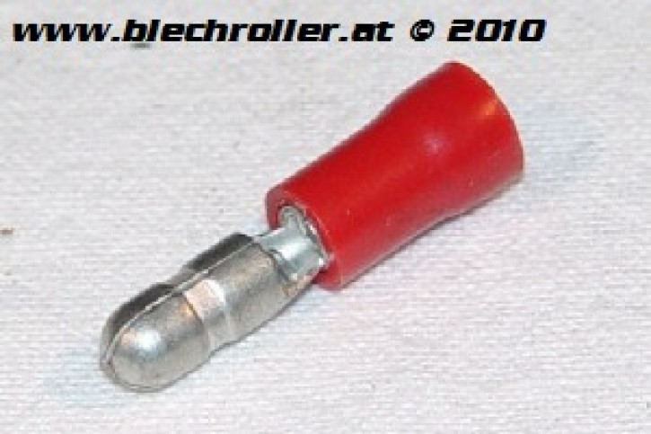Kabelrundstecker 4mm für 0,5-1,0mm² Kabel