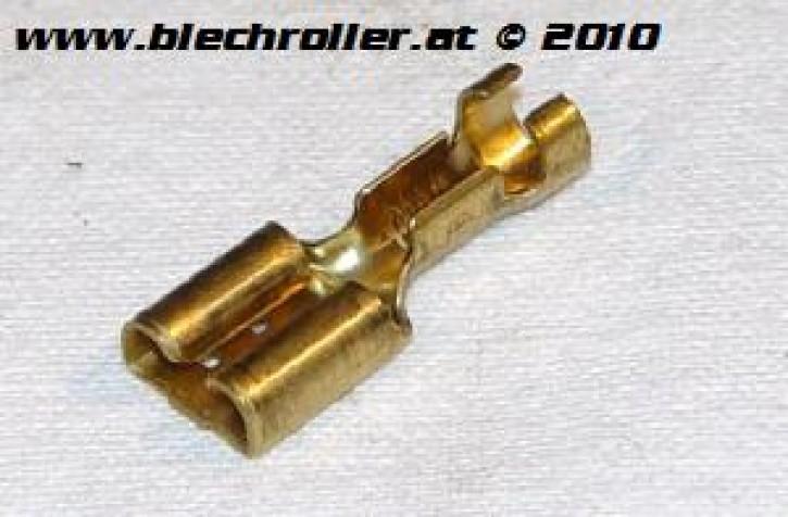 Kabelstecker 6,3x0,8mm für 0,5-1,0mm² Kabel