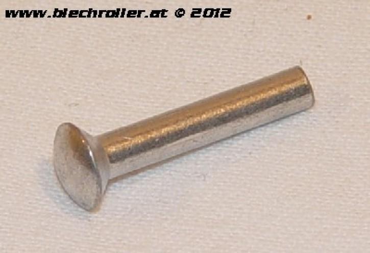 Niete Trittleistenende (aussen), für Vespa V50/90/100/ 125/PV/ET3/ P80-150X /P200E/P150S