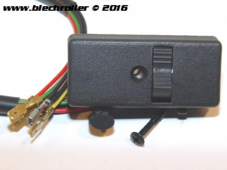 Lichtschalter GRABOR für Vespa V50 Special/Spezial - Modelle mit Lenkerendblinker