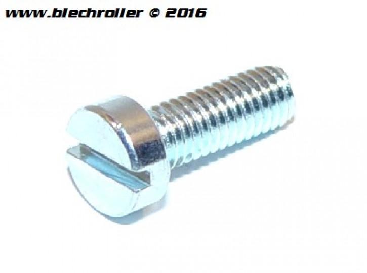 Schraube Schlitz M5x14 mm verzinkt, Zündgrundplatte für Vespa V50/PV/ET3/PK/S/XL/XL2/FL/PX, Zündspule für Vespa PK(I)/S/Rush