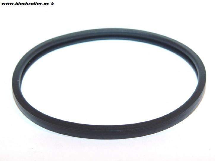 Dichtung Tachometerglas für Vespa 125 GT/150 VBA/VBB/GL/Sprint/GS VS5/160 GS/180 SS - Schwarz