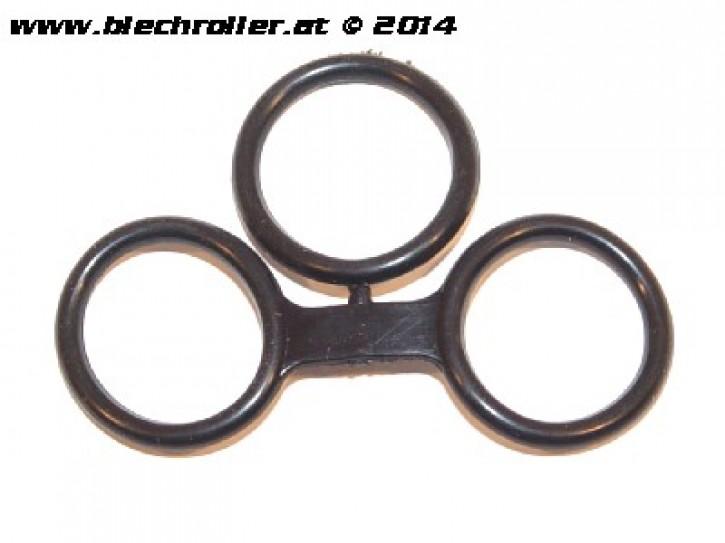 O-Ring Satz Staubschutzblech/Bremsankerplatte Hinterrad (klein),für Vespa PX/T5 /GT/GTR /Sprint/Rally