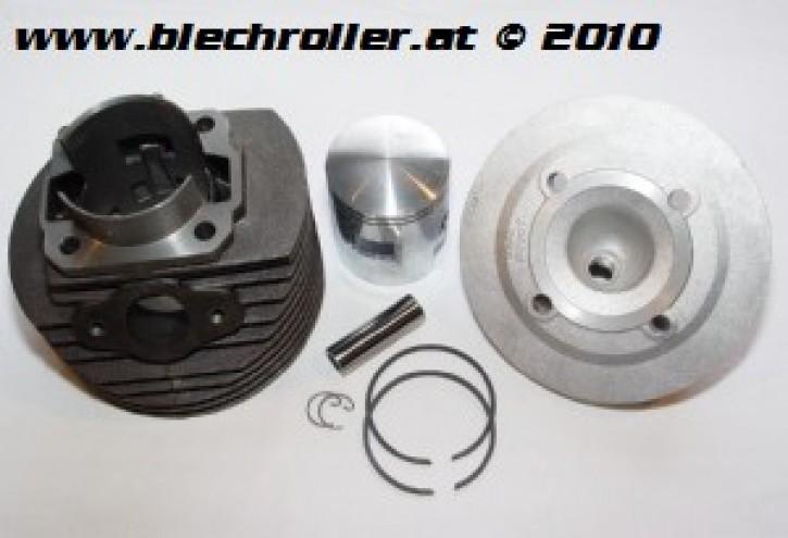 * Rennzylinder POLINI 133ccm PV/ET3/PK/XL, Grauguß, 6 Überströmer