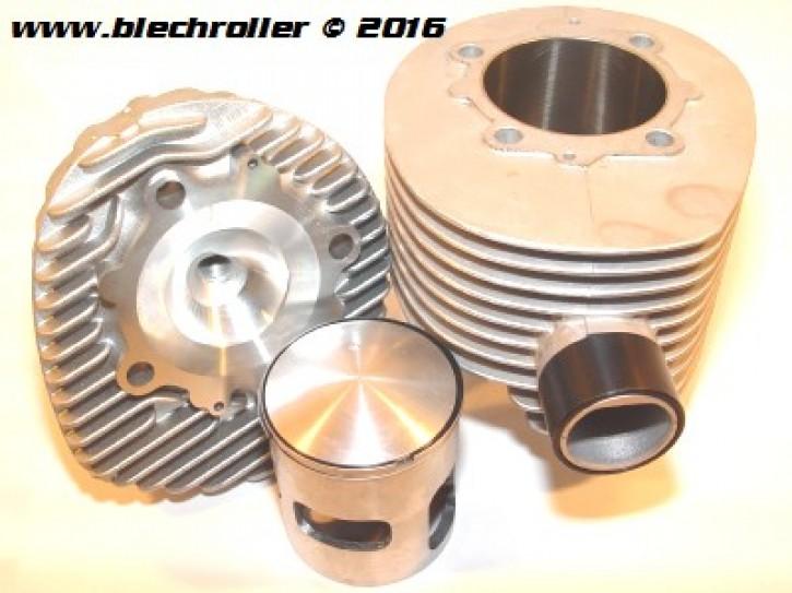 * Rennzylinder POLINI 221ccm für Vespa 200 Rally/P200E/PX200 E/Lusso/`98/MY/Cosa 200 - ALU