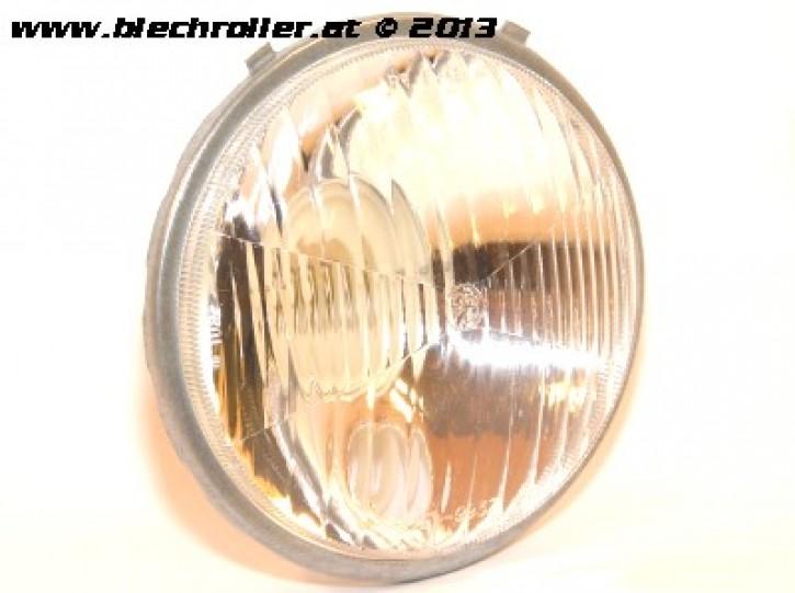 Scheinwerfer BOSATTA für Vespa 50S/N/L/R/SR/90, rund