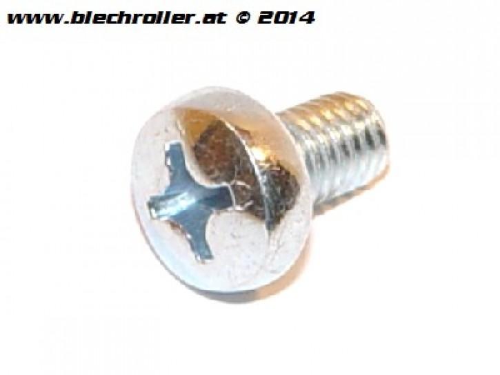 Schraube M6x12mm für Vespa Lüfterradabdeckung und Zylinderhaube