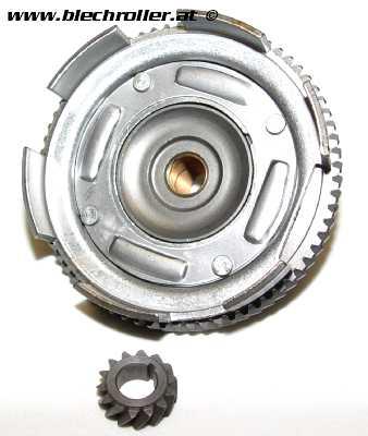 Getriebeübersetzung 14/69, (4.93), für Vespa 50-125/PV/ET3/PK50-125/S/XL/XL2 - geradeverzahnt