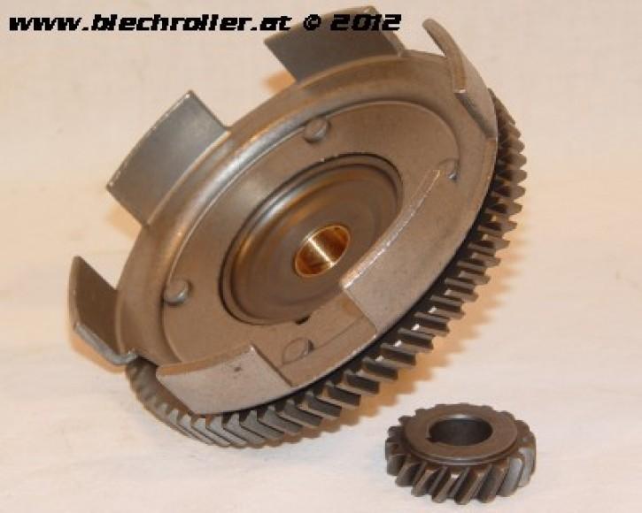 Getriebeübersetzung 18/67, (3.72), für Vespa 50-125/PV/ET3/PK50-125/S /XL/XL2 - schrägverzahnt