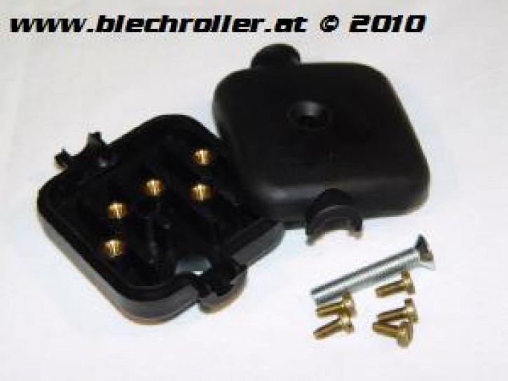 Kabelbox/Kabelkästchen für Vespa 125 VNB6/GT/GTR/Super/TS/150 GL/Sprint/V./Rally etc.
