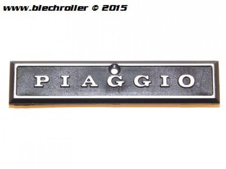 """Schriftzug """"PIAGGIO"""", Kaskade für Vespa P80-150X/PX80-200E/Lusso 1°/P150S/P200E"""