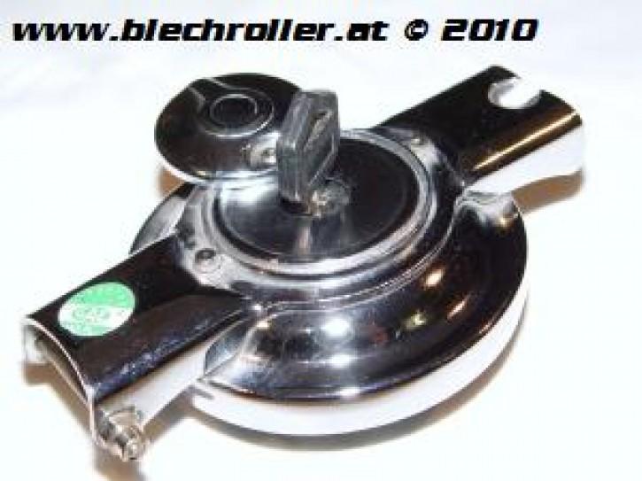 Tankdeckel PX/PE/Sprint etc. klappbar, Abschließbar, Chrom