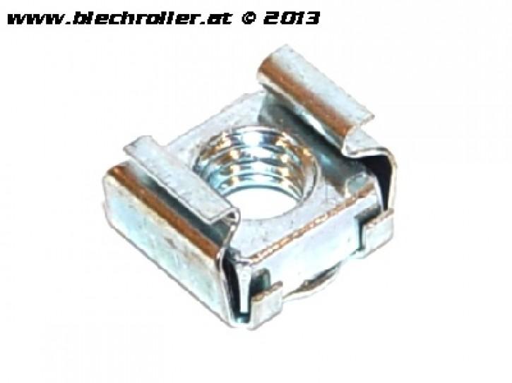 Mutter/Klemmmutter, Ankerplatte Bremspedal für Vespa V50/PV/ET3/PK/PX/T5