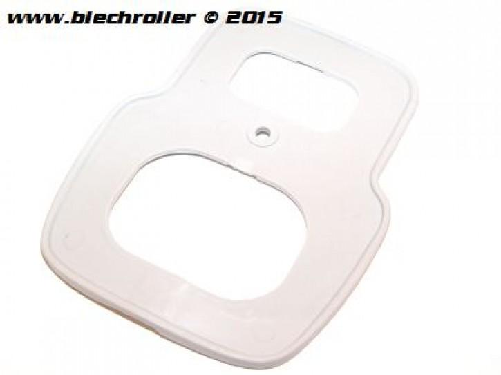 "Dichtung BOSATTA ""Antik klein"" Rahmen Rücklicht Vespa 50S/SR/SS/90 SS/R/125 Nuova >0140161 - Grau"