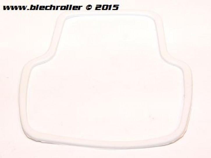 "Dichtung SIEM ""Antik klein"" Rücklichtglas für Vespa 50S/SR/SS/90 SS/R/125 Nuova - Grau"