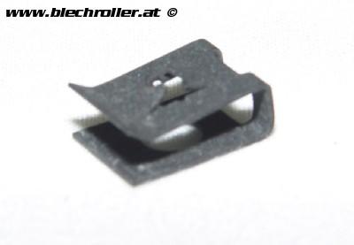Blechmutter für Schraube Kaskade unten für Vespa PX/T5 und Lenkkopfabdeckung für Vespa T5/PKXL2