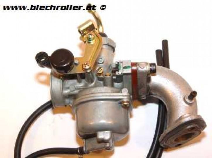 LML Star 125 4T Handschaltung Original Vergaser + Ansaugstutzen - Gebraucht -