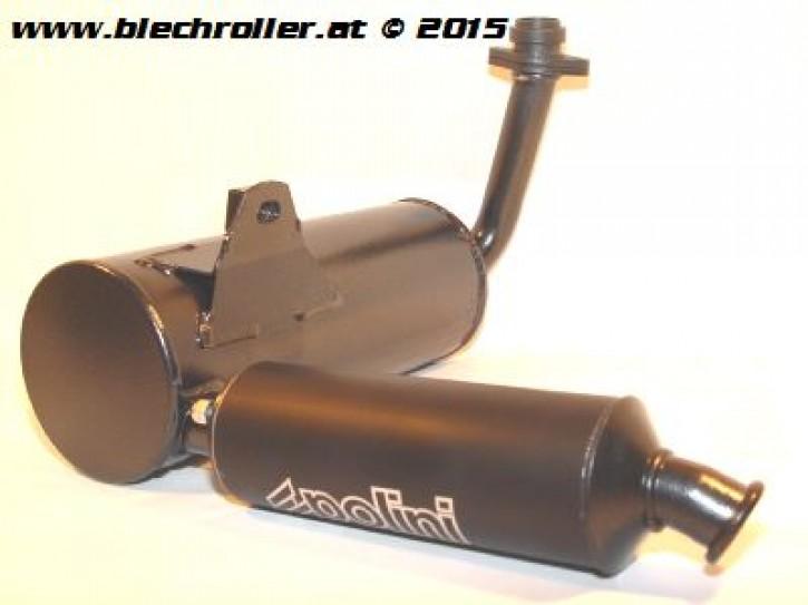 * Rennauspuff POLINI für LML Star/Star Deluxe 125/150 4T Handschaltung