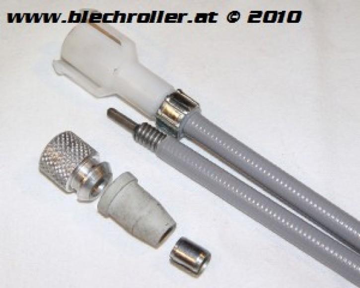 Tachowelle Vespa 125/GT/GTR/Super/TS/150 Sprint V/Super/Rally - gesteckt/geschraubt