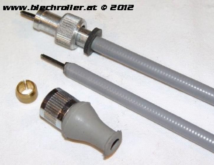 Tachowelle für Vespa 125 VN/VNA/VNB1-2/150 VL/VB1 /VGLA1T >017604 - geschraubt/geschraubt