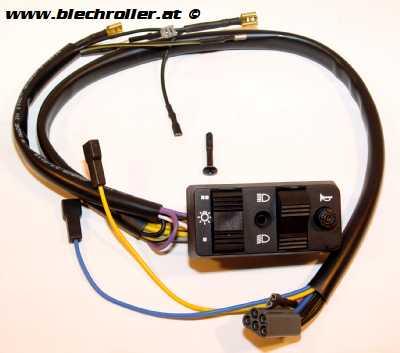 Lichtschalter für Vespa PK50-125 S/Automatica ohne E-Start