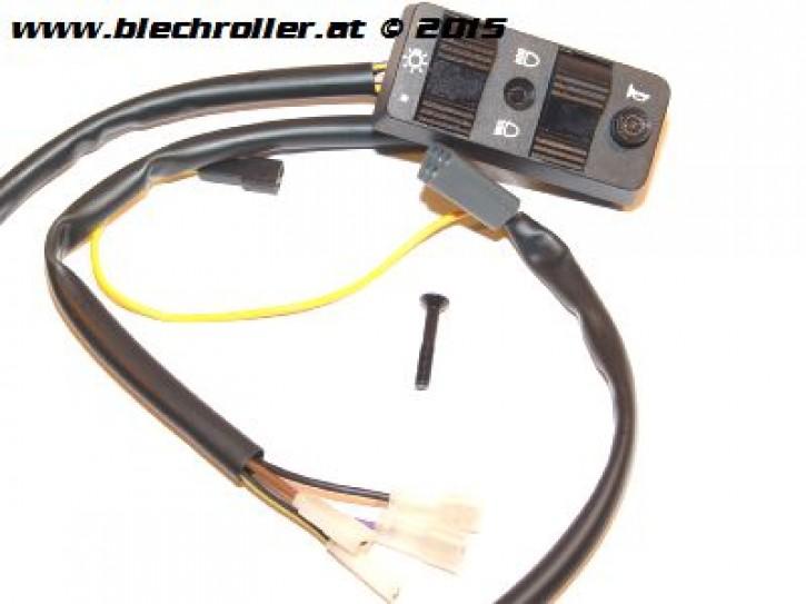 Lichtschalter für Vespa PX80-200E/Lusso/`98/MY /PK 50-125 XL/ETS, mit E-Start