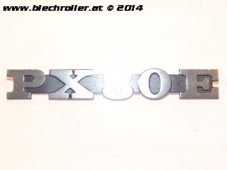"""Schriftzug """"PX80E"""", Seitenhaube für Vespa PX 80 E /Lusso"""