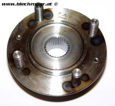 Bremstrommelaufnahme hinten für Vespa 125 VNA/?VNB1-2/?150 VBA/?VBB ->71000