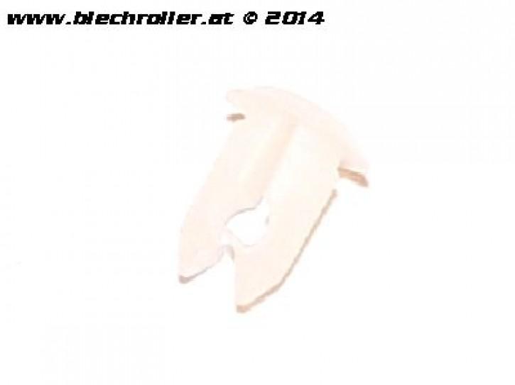 Befestigungsclip Blinkerkabel an der Seitenhaube für Vespa PX/Lusso/T5
