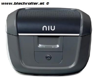 NIU N1S Topcase inkl. Gepäckträger - SCHWARZ