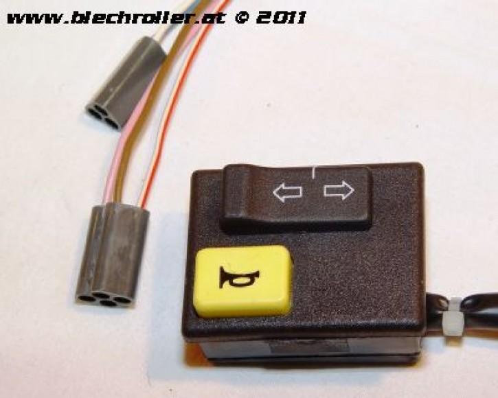 Blinkerschalter für Vespa PK 50 XL HP - schwarz