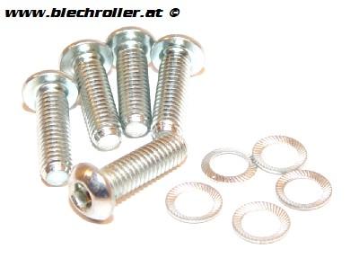 Schrauben/Montage Kit M6x20 mm, Innensechskant fürBremsscheibe Grimeca NT/MY/`98/LML Star