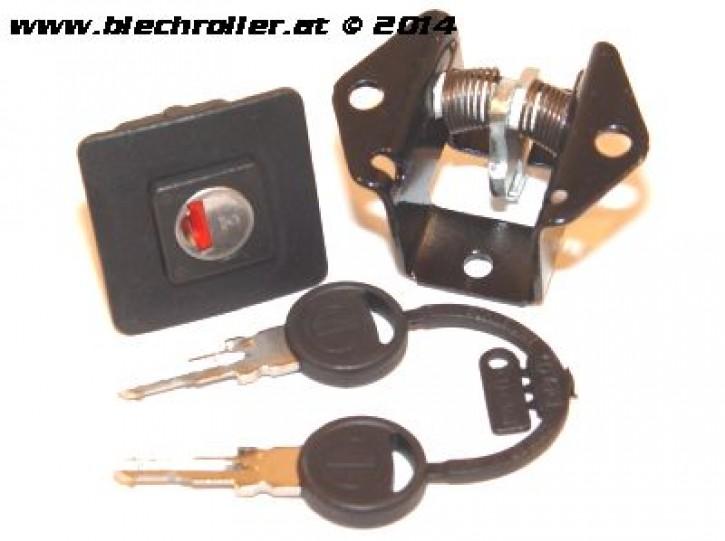 Sitzbankschloss DIEFFE  für Vespa PK50-125S /Automatica/ETS