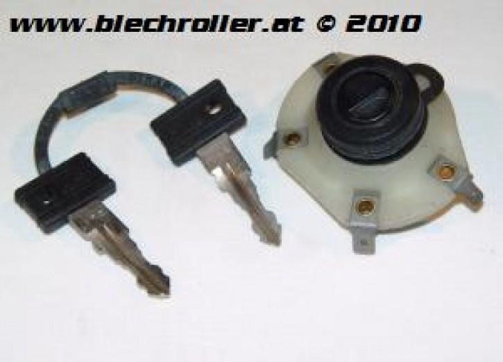 Zündschloss  Vespa 100 2°/125 PV ET3/200 Rally 2°/P80-150X/P150S/P200E/PX80-125 E