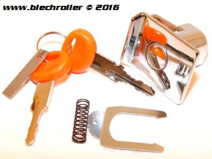Schloss Gepäckfach Vespa PX80-200E Lusso/`98/MY/T5/PK XL - Chrom