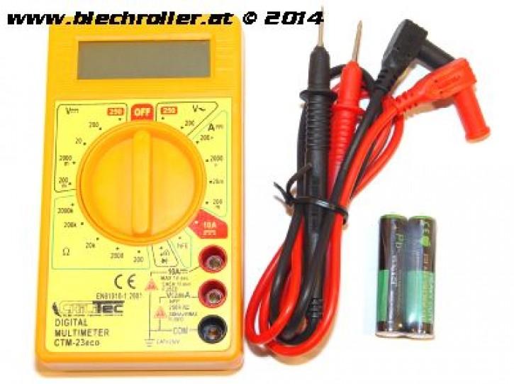 Digital-Multimeter -CTM-23 Eco 2V-250V, mit akustischem Durchgangsprüfer