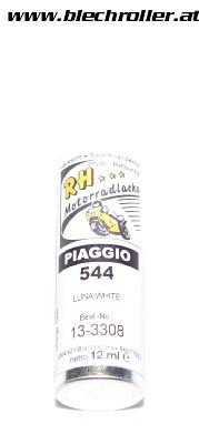 Lackstift Vespa GTS Piaggio 544 Weiss (montebianco) - 12ml