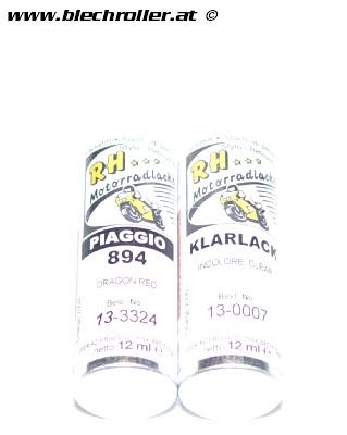 Lackstift Vespa Piaggio 894 Rot (dragon) - 2x12ml