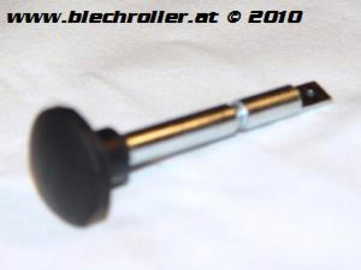 Chokehebel PK XL1 mit schwarzem Gummi-Knopf