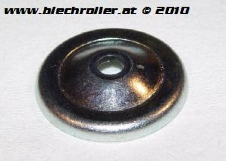 Benzinfilterdeckel DELLORTO SI Vergaser für Vespa 125 VNB-TS/150 VBA-Super/160 GS/180 SS/Rally/PX80-200/PE/Lusso/T5/Cosa