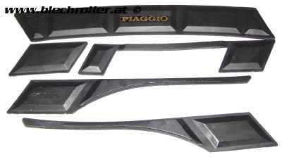 Ariete Seitenschutzleisten für Vepsa V50-125 Primavera - RETRO ORIGINALVERPACKT