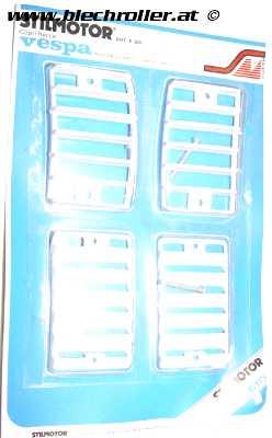 Blinkergitter weiß für Vepsa PK 50-125 S - RETRO ORIGINALVERPACKT