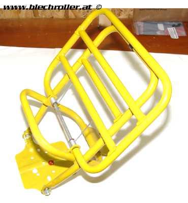 Gepäckträger senf gelb für Vepsa PK 50-125 - RETRO - teilweise ORIGINALVERPACKT