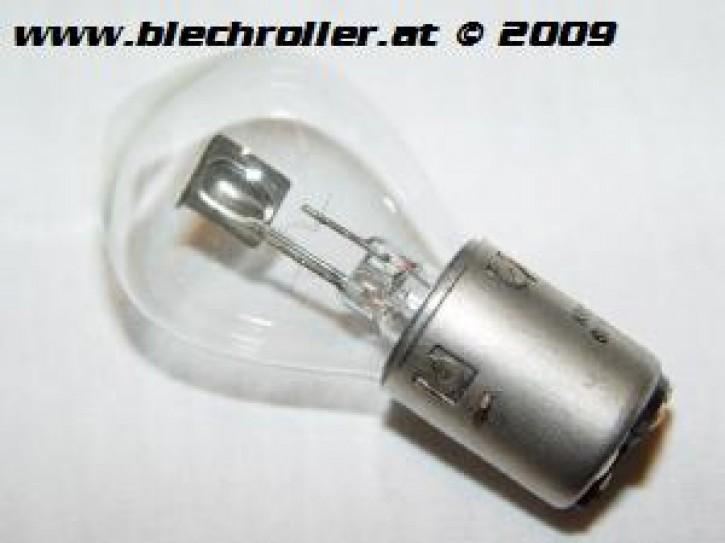 Biluxbirne 6V 15/15W, Sockel: BA20D - für Scheinwerfer