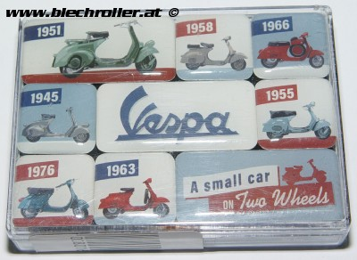 Magnet Satz Vespa