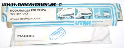 Kotflügel-/Seitenhauben Schutzpads UTAH für Vepsa PE/PX 125/120/200 - RETRO ORIGINALVERPACKT - Restposten
