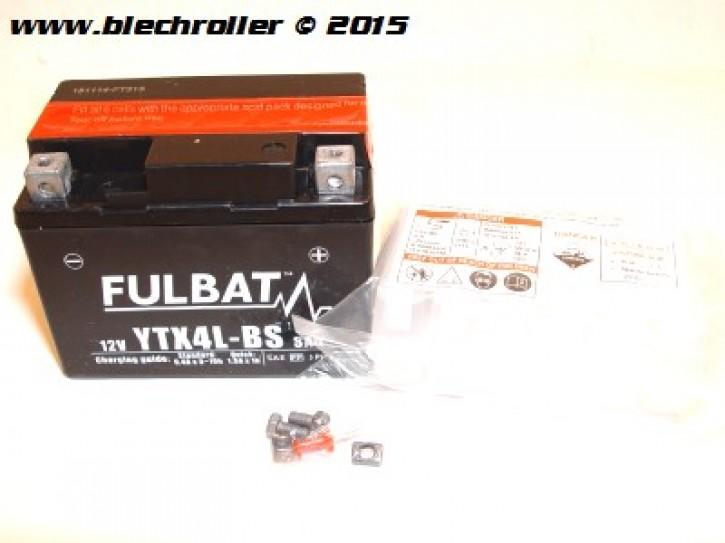 Batterie 12V/3Ah YTX4L-BS - vorgeladen